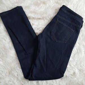 Uniqlo heatteach jeans size 24 dark wash skinny